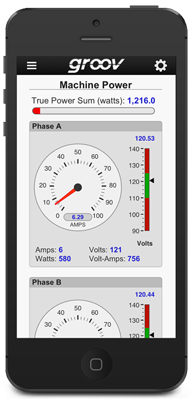 HMI in app: groov View for iOS