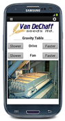 groov interface controls VFDs