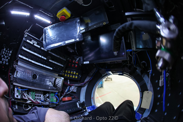 Inside the simulator for Deepsea Challenger
