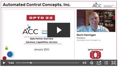ACC OptoPartner video