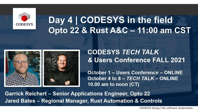 CODESYS Fall 2021 - Opto 22