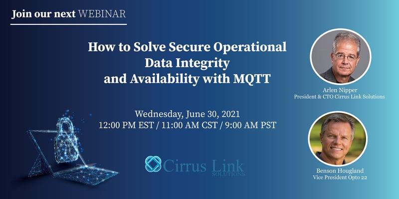 Cirrus Link MQTT Security Webinar 063021