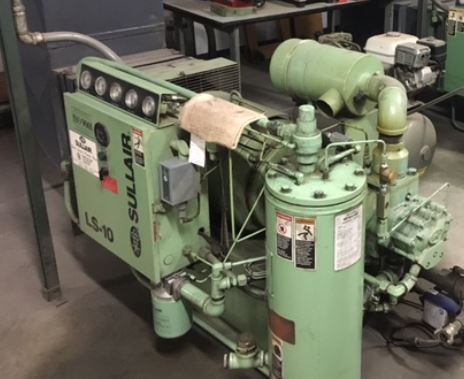 40 HP rotary screw compressor - legacy equipment holding valuable data