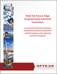 White Paper: Meet the Future: Edge Programmable Industrial Controllers