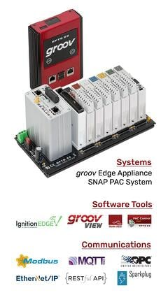 groov Edge Appliance with IoT technologies built in