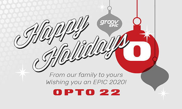 Happy Holidays from Opto 22