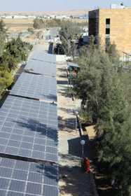Hashemite University uses Opto 22 products to control its solar PV system