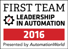 Automation World First Team Badge