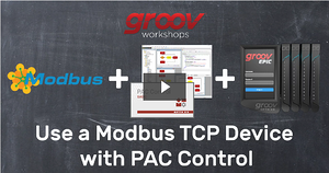 Use Modbus TCP device with PAC Control