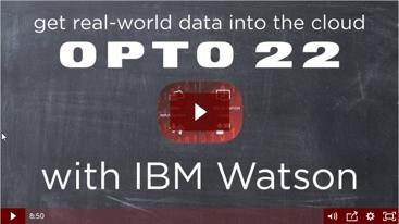 Connect manufacturing to IBM Watson IoT