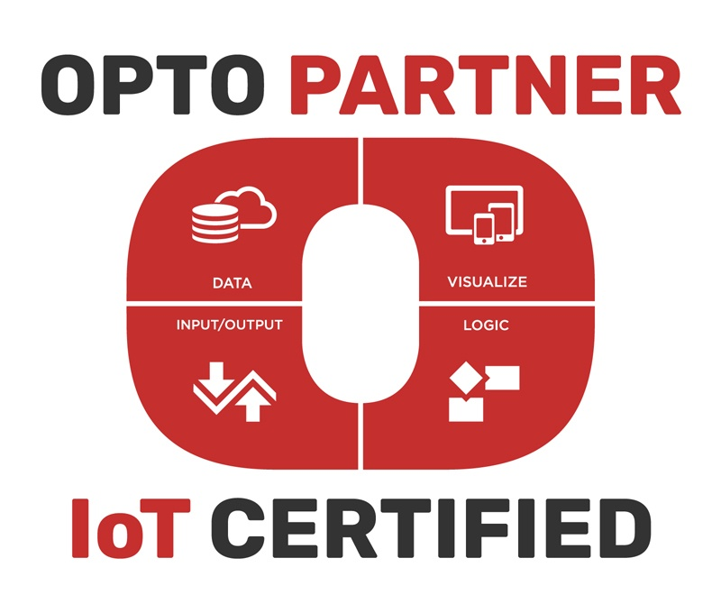 Opto 22 IoT Certified OptoPartner logo