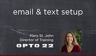 groov email and text message setup how-to video