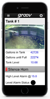groov mobile operator interface for Plummer's Environmental Services