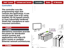 SNAP PAC System components interactive demo