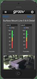 groov View app on iPhone
