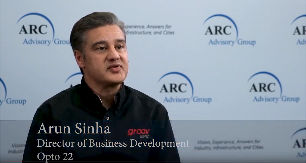 ARC Advisory Group interviews Opto 22's Arun Sinha