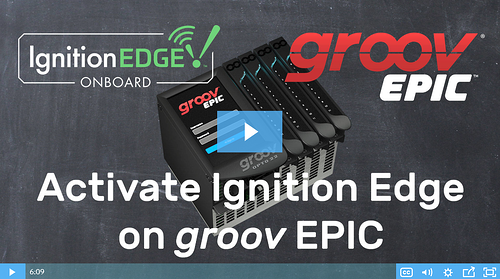 Video: Activate Ignition Edge on groov EPIC