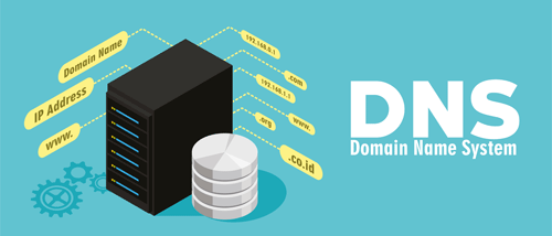 DNS server illustration