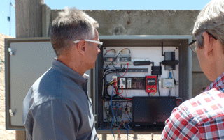 groov Box in the field uses IoT tools but is connected locally