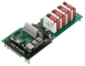 Raspberry Pi controlling industrial Opto 22 G4 I/O