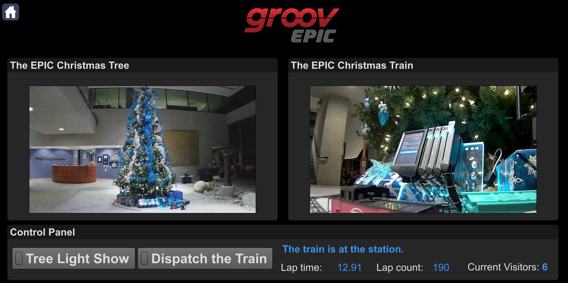 groov EPIC Holiday Page