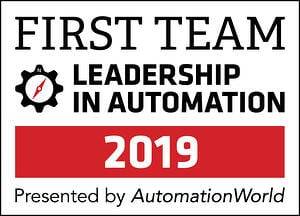2019 Leadership in Automation First Team Honoree