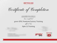 OptoU Certificate