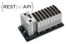 SNAP PAC R-series programmable automation controller with a RESTful API