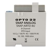 SNAP-AIRTD-8U multifunction RTD/resistance analog temperature input module