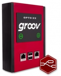 Opto 22 groov Box includes Node-RED for IIoT applications