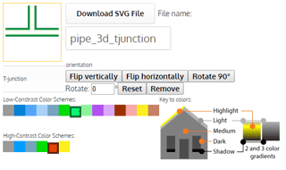 groov SVG Image Library now includes pipes