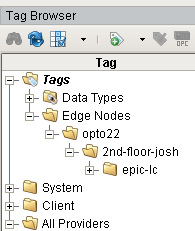 Tag folder structure