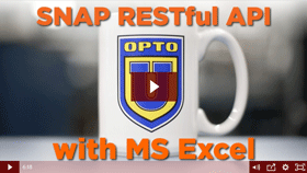 Video: Using SNAP PAC RESTful API with Microsoft Excel