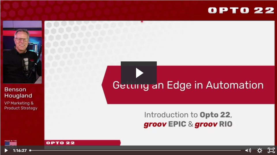 """""""Getting an Edge in Automation"""" Webinar Recording Now Available"""