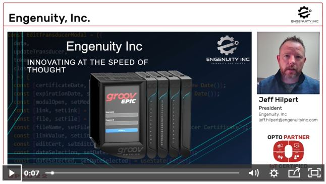 Engenuity OptoPartner Video - Oil and Gas Pros