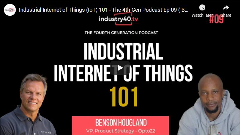 Let's talk IIoT with Industry40.tv