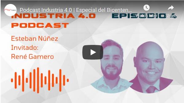 Podcast en Español: Industria 4.0 por NV Tech y Opto 22