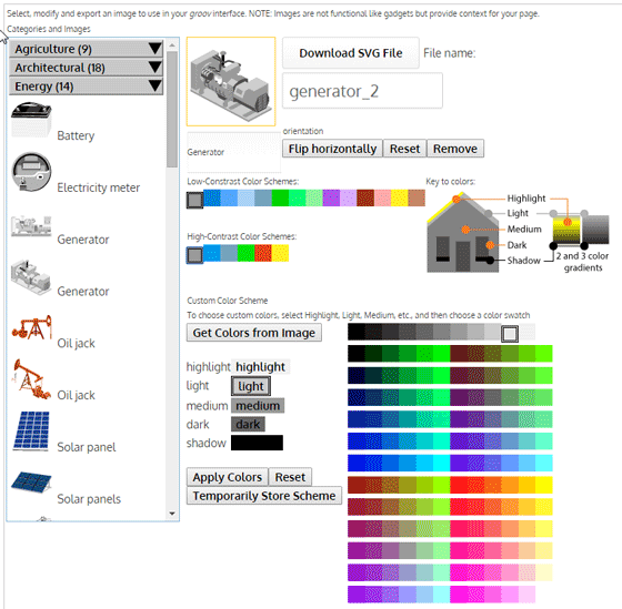 OptoNews: Add context to your HMI with free SVG image library