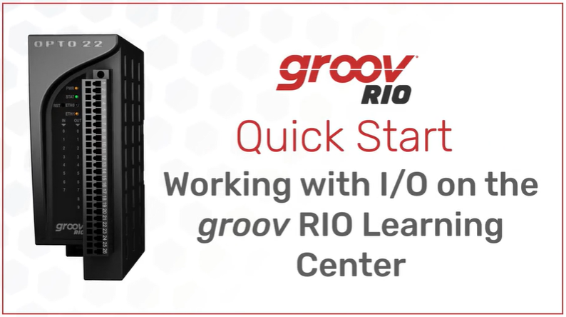 groov RIO lessons coming to OptoU