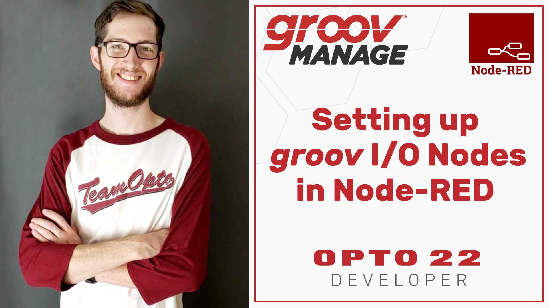 New videos help you start programming with groov RIO and Node-RED