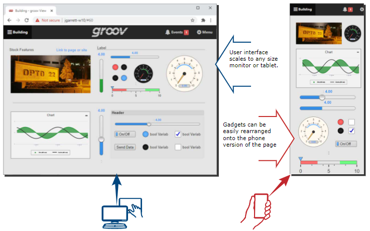 Getting the most out of groov View