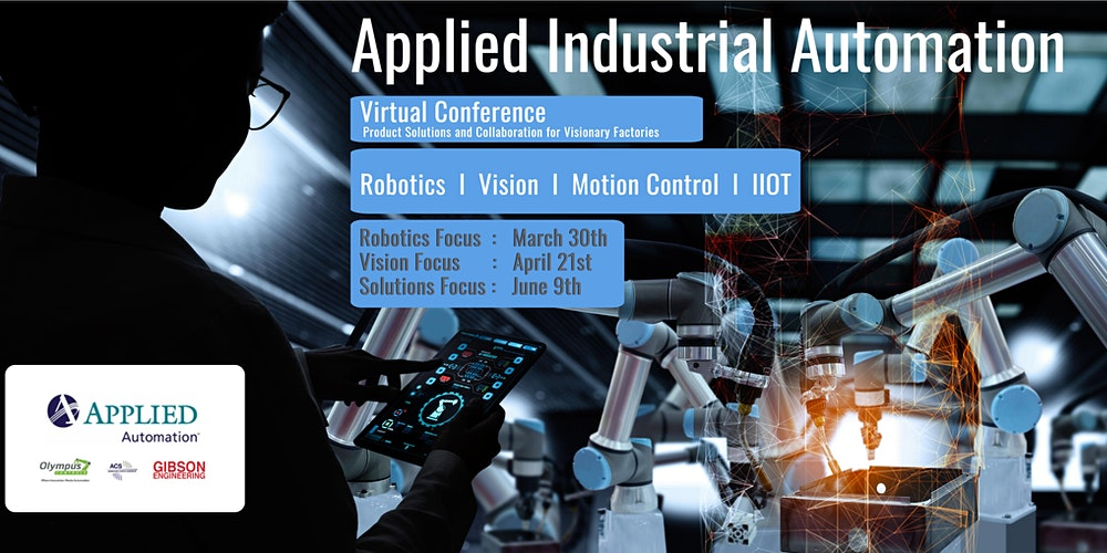 Find your solution at the Applied Automation conference